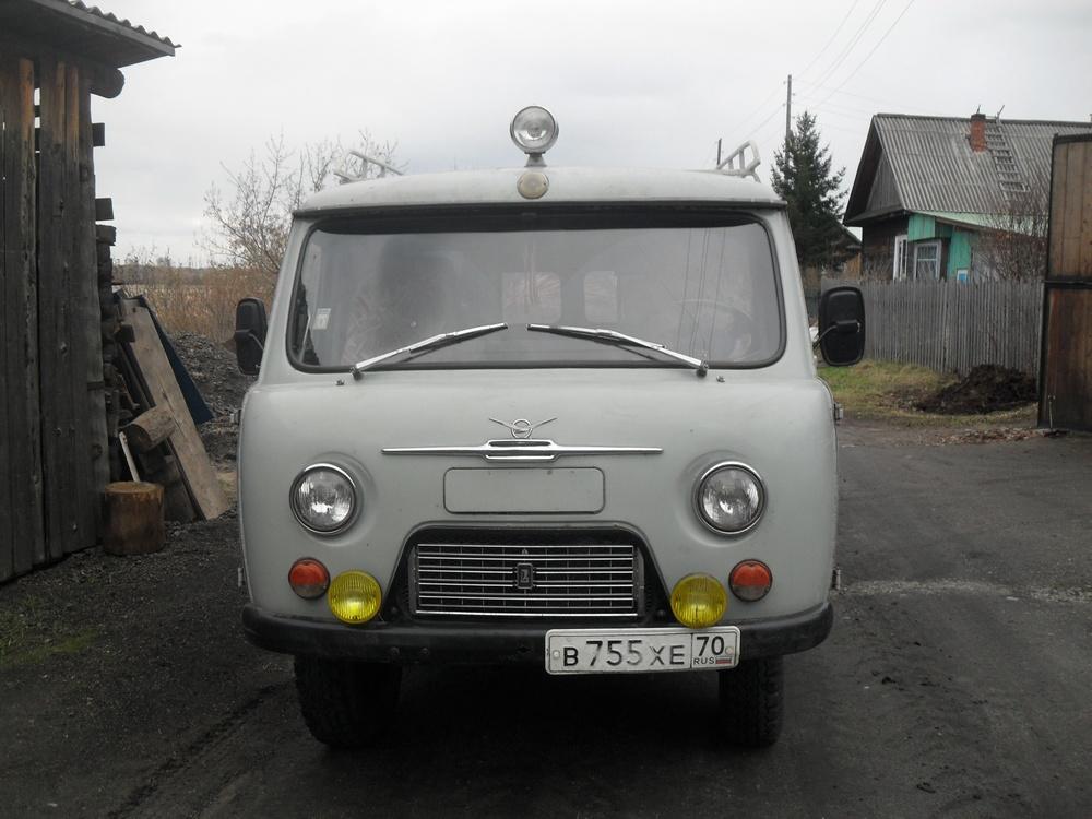 Подержанный УАЗ 39625, среднее состояние, бежевый , 1996 года выпуска, цена 150 000 руб. в Томской области