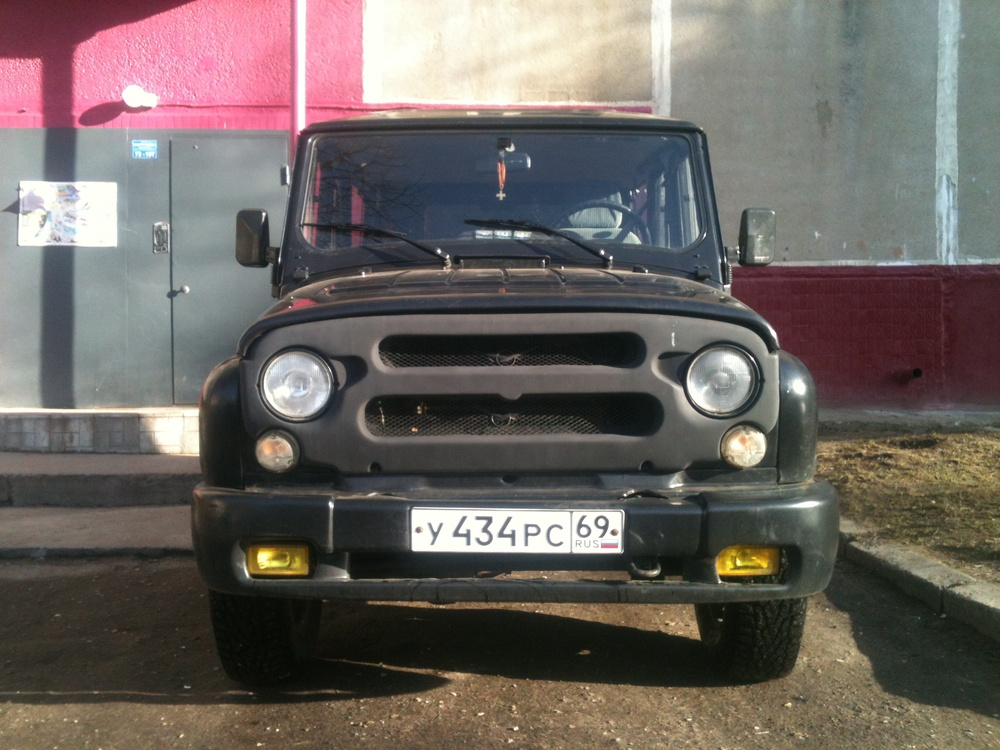 Подержанный УАЗ Hunter, хорошее состояние, черный , 2007 года выпуска, цена 250 000 руб. в Тверской области