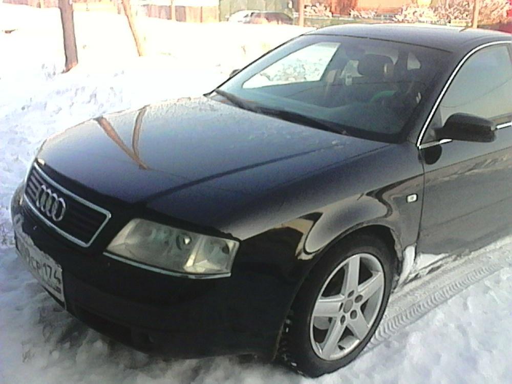 Подержанный Audi A6, хорошее состояние, черный , 1999 года выпуска, цена 300 000 руб. в ао. Ханты-Мансийском Автономном округе - Югре