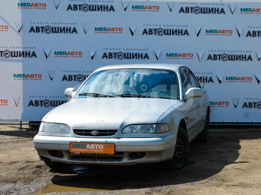 Hyundai Sonata с пробегом, серебряный , хорошее состояние, 1994 года выпуска, цена 55 000 руб. в автосалоне Мега Авто Калуга (Калуга, ул. Зерновая, д. 28)