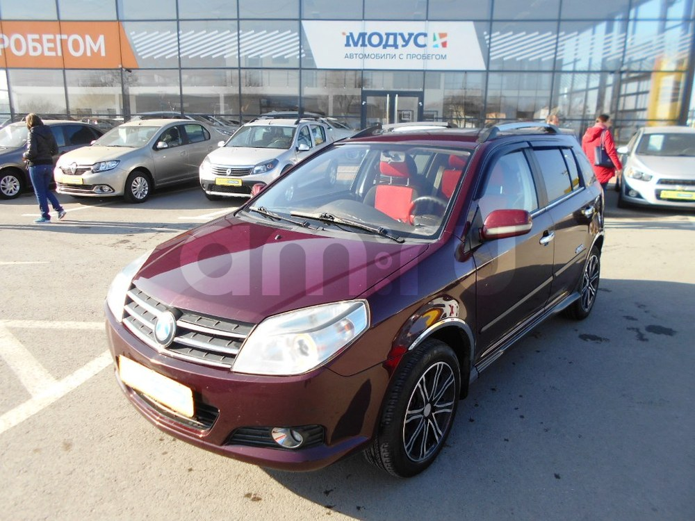 Geely MK с пробегом, красный акрил, отличное состояние, 2012 года выпуска, цена 265 000 руб. в автосалоне  ()
