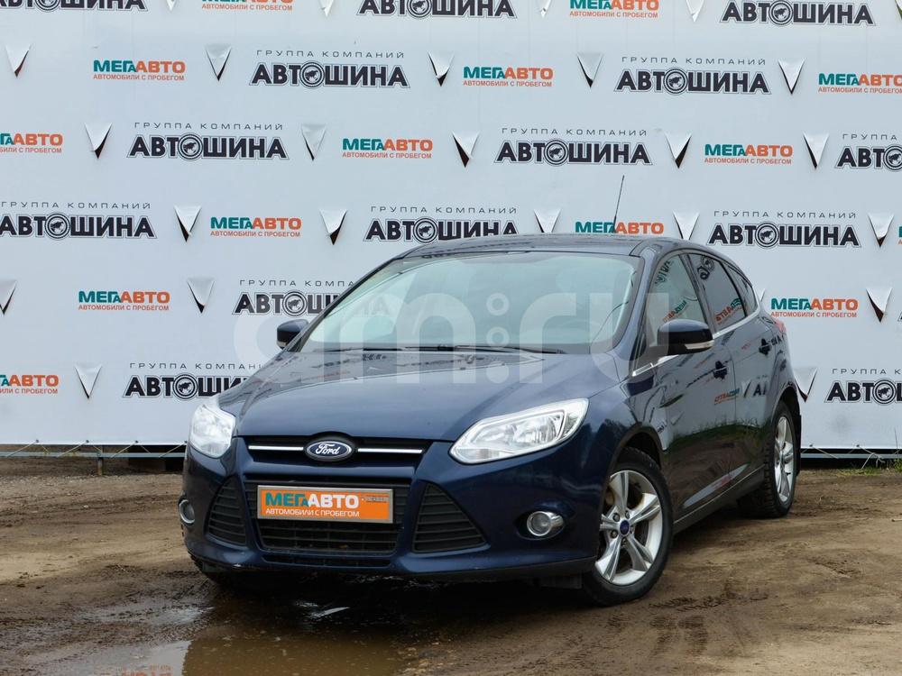 Ford Focus с пробегом, синий , отличное состояние, 2012 года выпуска, цена 460 000 руб. в автосалоне Мега Авто Калуга (Калуга, ул. Зерновая, д. 28)
