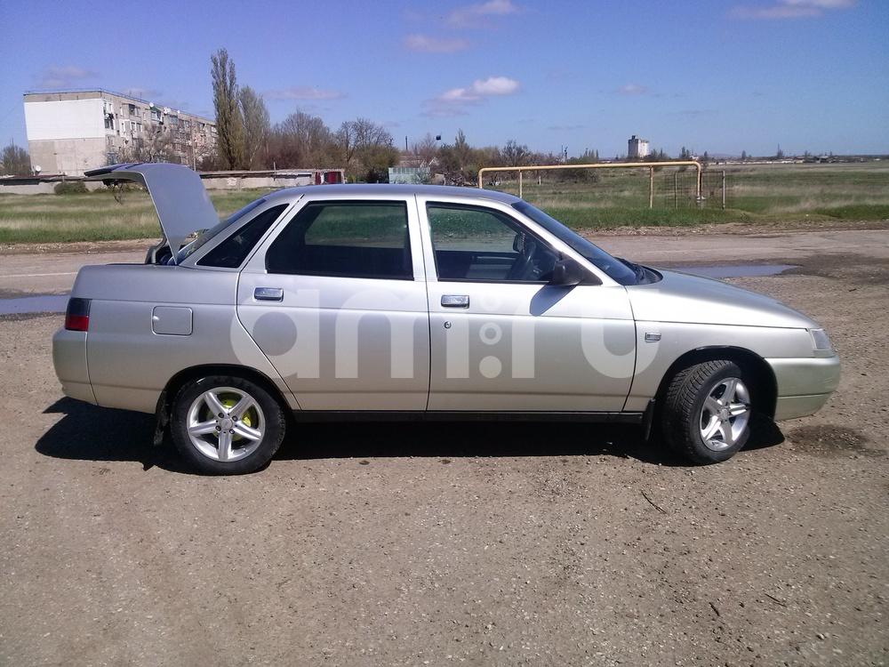 Подержанный ВАЗ (Lada) 2110, хорошее состояние, серый металлик, 2006 года выпуска, цена 155 000 руб. в Крыму