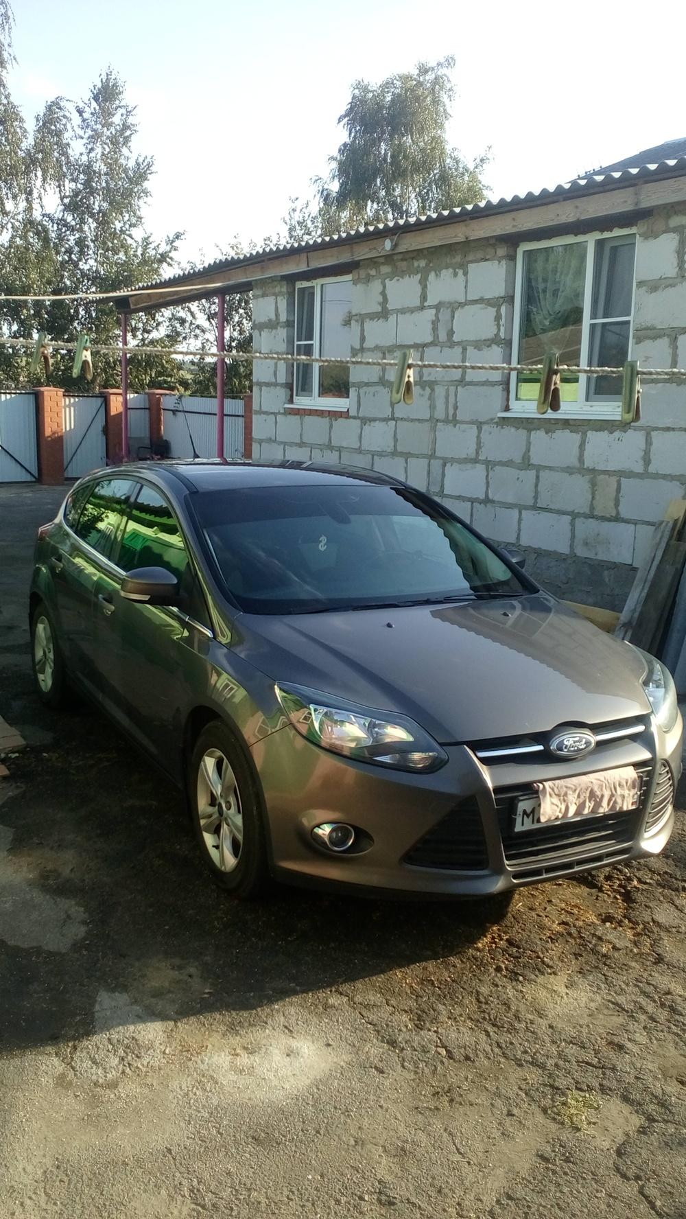 Подержанный Ford Focus, отличное состояние, серый металлик, 2012 года выпуска, цена 525 000 руб. в Воронежской области