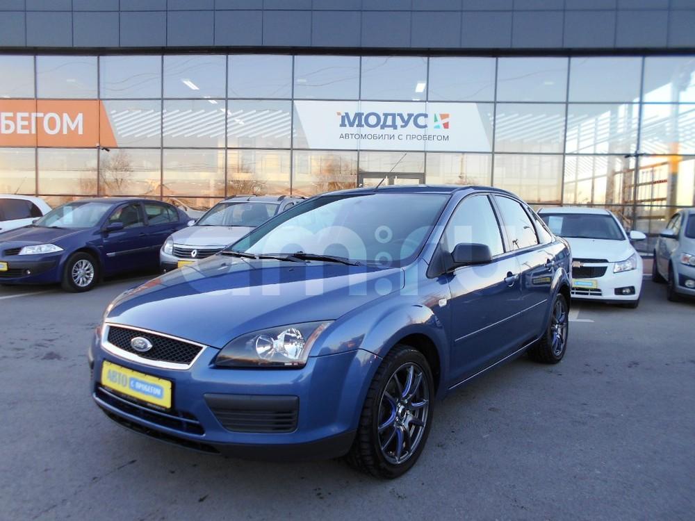 Ford Focus с пробегом, синий , отличное состояние, 2005 года выпуска, цена 340 000 руб. в автосалоне  ()