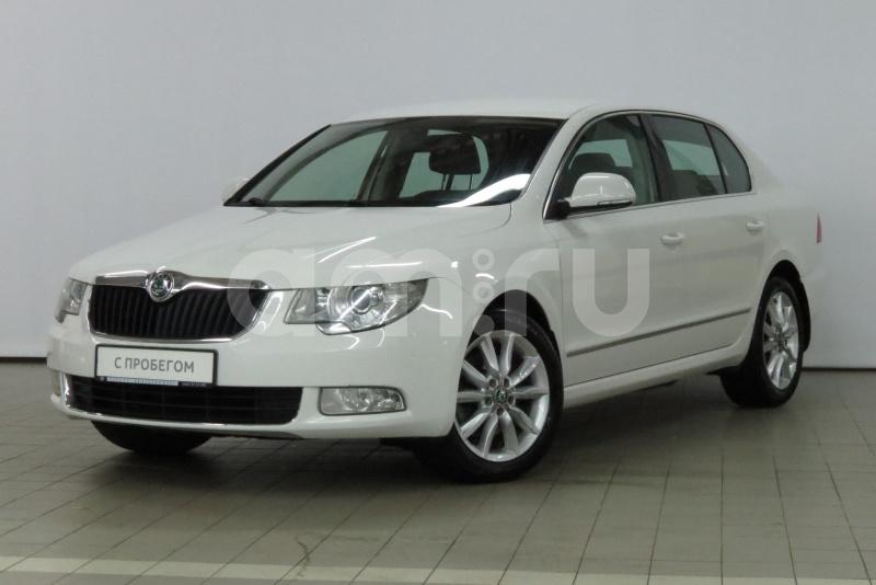 Skoda Superb с пробегом, белый , отличное состояние, 2012 года выпуска, цена 770 000 руб. в автосалоне  ()