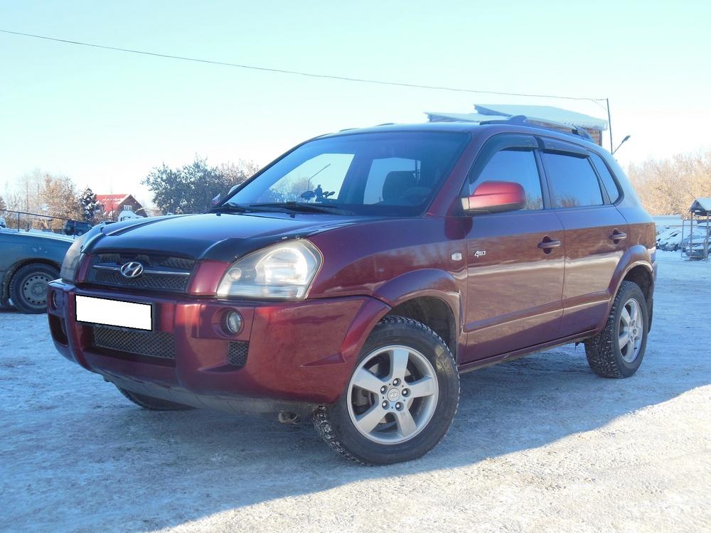 Hyundai Tucson с пробегом, бордовый акрил, хорошее состояние, 2004 года выпуска, цена 495 000 руб. в автосалоне  ()