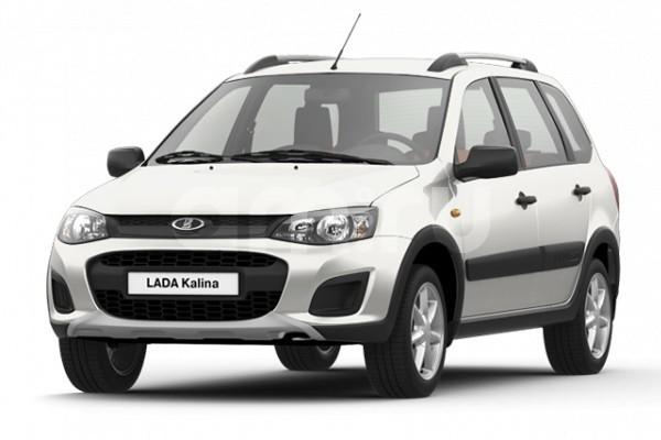 Новый авто ВАЗ (Lada) Kalina, белый , 2017 года выпуска, цена 568 600 руб. в автосалоне  ()