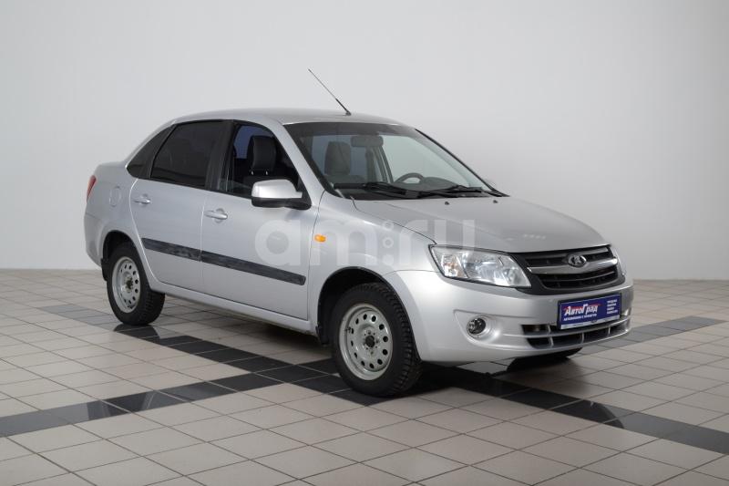 ВАЗ (Lada) Granta с пробегом, серебряный , отличное состояние, 2013 года выпуска, цена 295 000 руб. в автосалоне  ()