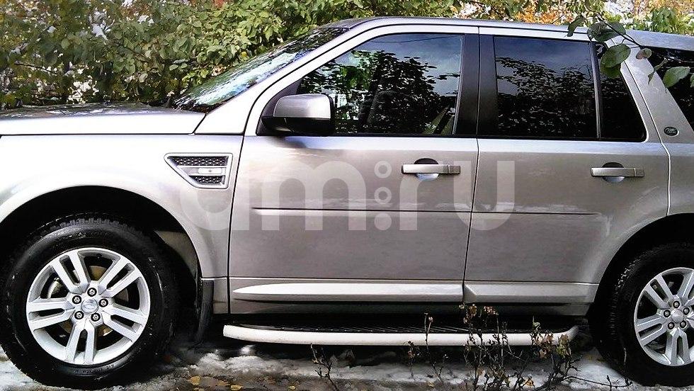 Подержанный Land Rover Freelander, отличное состояние, серебряный металлик, 2014 года выпуска, цена 1 750 000 руб. в Челябинской области