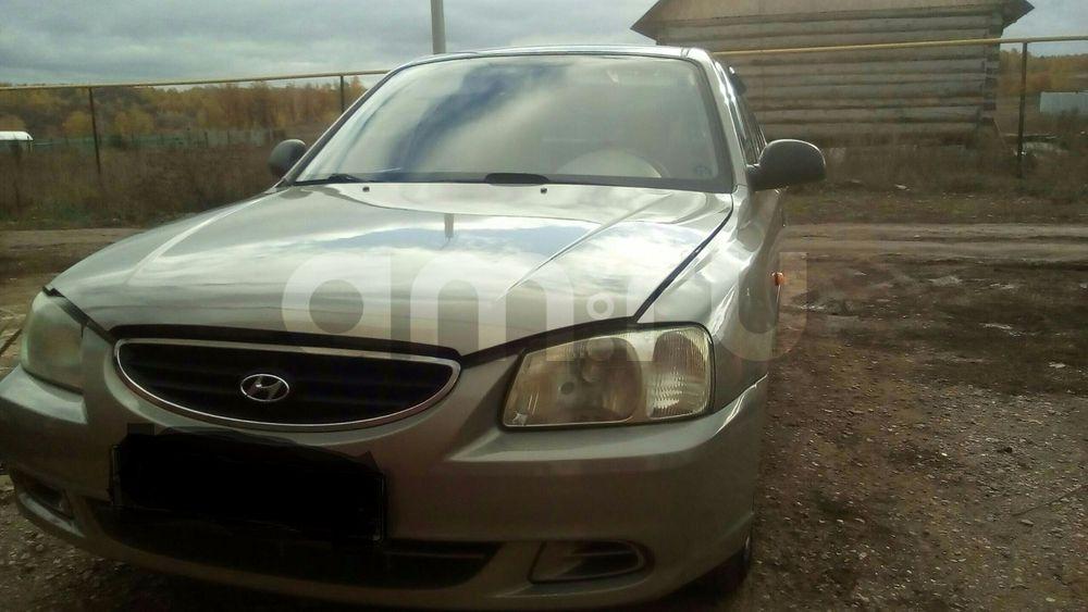 Подержанный Hyundai Accent, отличное состояние, сафари , 2008 года выпуска, цена 240 000 руб. в республике Татарстане