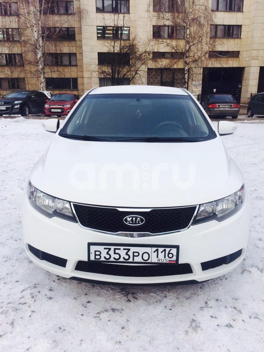 Подержанный Kia Cerato, отличное состояние, белый металлик, 2010 года выпуска, цена 435 000 руб. в республике Татарстане