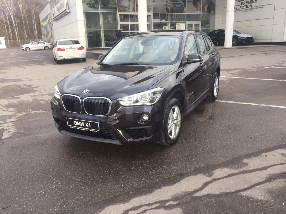 BMW X1 с пробегом, коричневый , отличное состояние, 2016 года выпуска, цена 1 999 000 руб. в автосалоне  ()