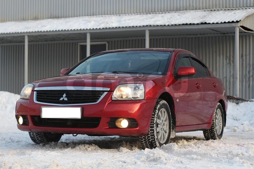 Подержанный Mitsubishi Galant, отличное состояние, красный , 2008 года выпуска, цена 525 000 руб. в Архангельске