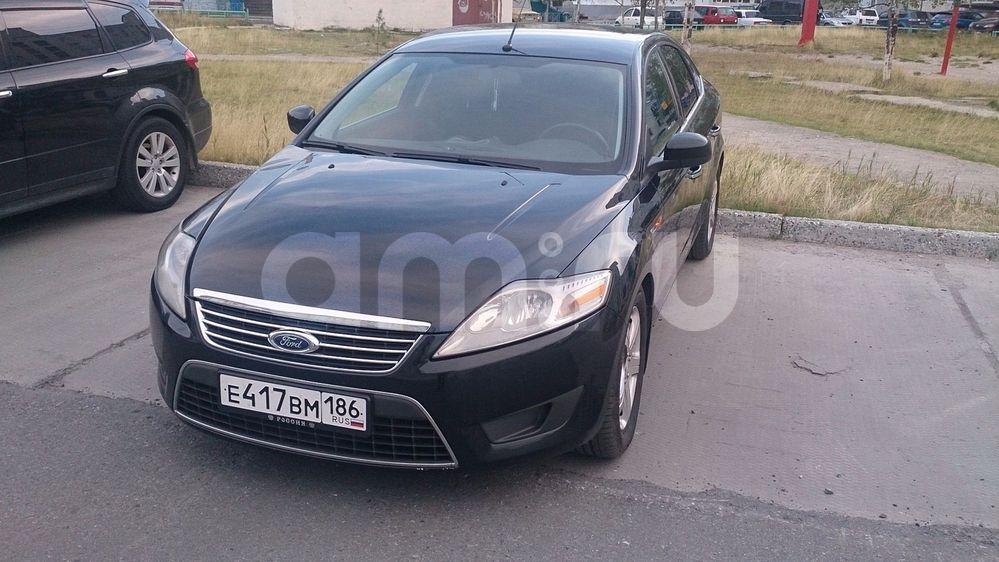 Подержанный Ford Mondeo, хорошее состояние, черный металлик, 2008 года выпуска, цена 490 000 руб. в ао. Ханты-Мансийском Автономном округе - Югре