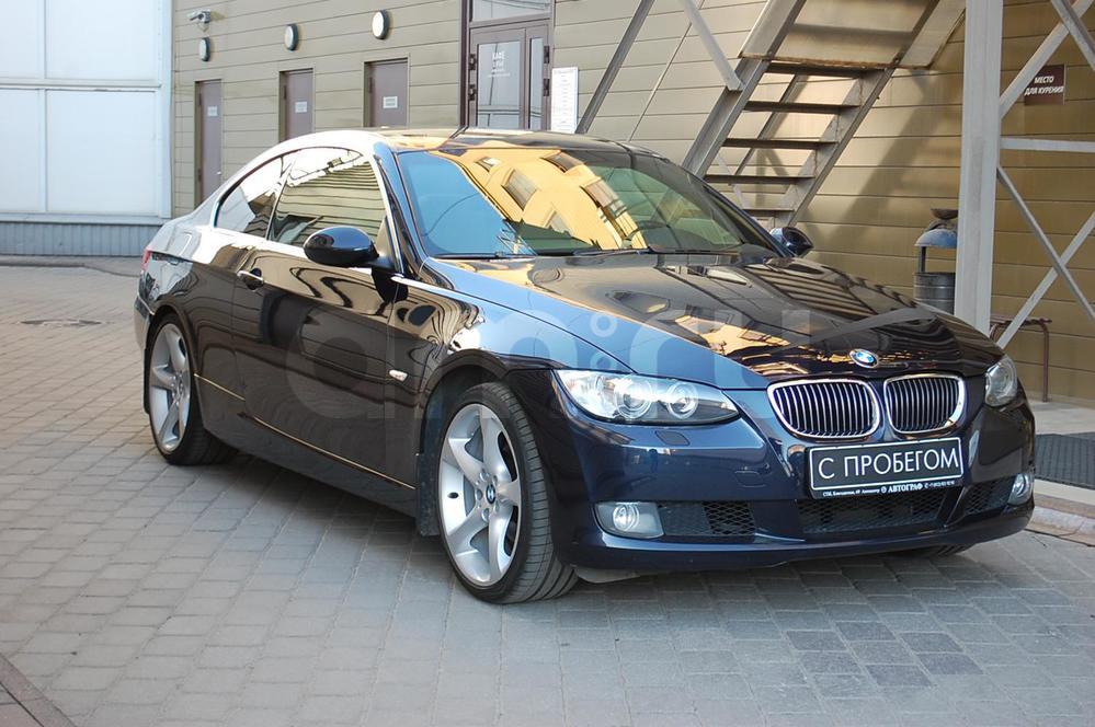 BMW 3 серия с пробегом, синий , отличное состояние, 2007 года выпуска, цена 699 900 руб. в автосалоне  ()