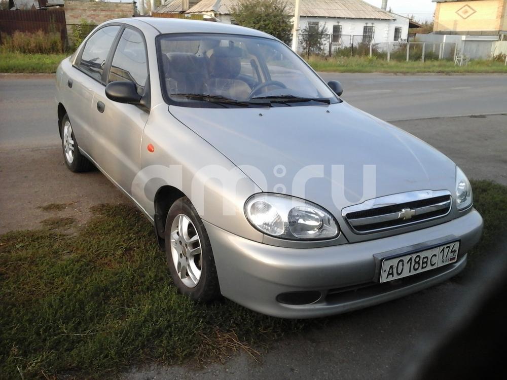Подержанный Chevrolet Lanos, отличное состояние, серый металлик, 2008 года выпуска, цена 150 000 руб. в Челябинской области