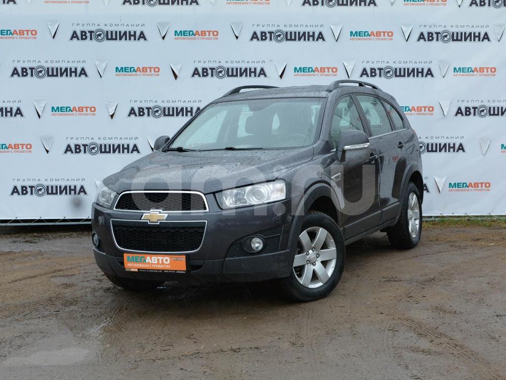 Chevrolet Captiva с пробегом, серый , отличное состояние, 2013 года выпуска, цена 896 000 руб. в автосалоне Мега Авто Калуга (Калуга, ул. Зерновая, д. 28)