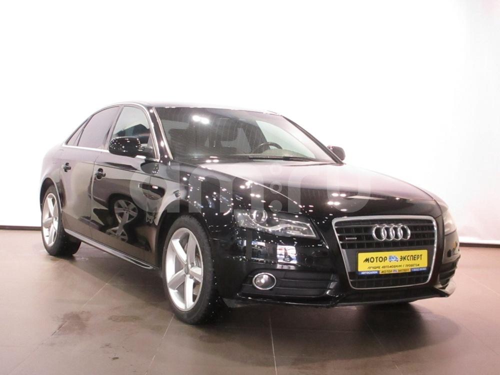 Audi A4 с пробегом, черный , отличное состояние, 2011 года выпуска, цена 790 000 руб. в автосалоне Мотор-Эксперт (Киров, ул. Московская, д. 106А)