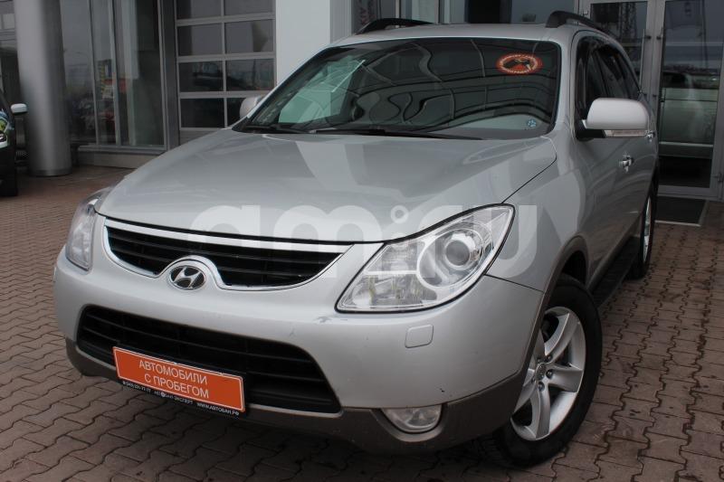 Hyundai ix55 с пробегом, серебряный , отличное состояние, 2010 года выпуска, цена 922 000 руб. в автосалоне Автобан-Запад (Екатеринбург, ул. Металлургов, д. 67)