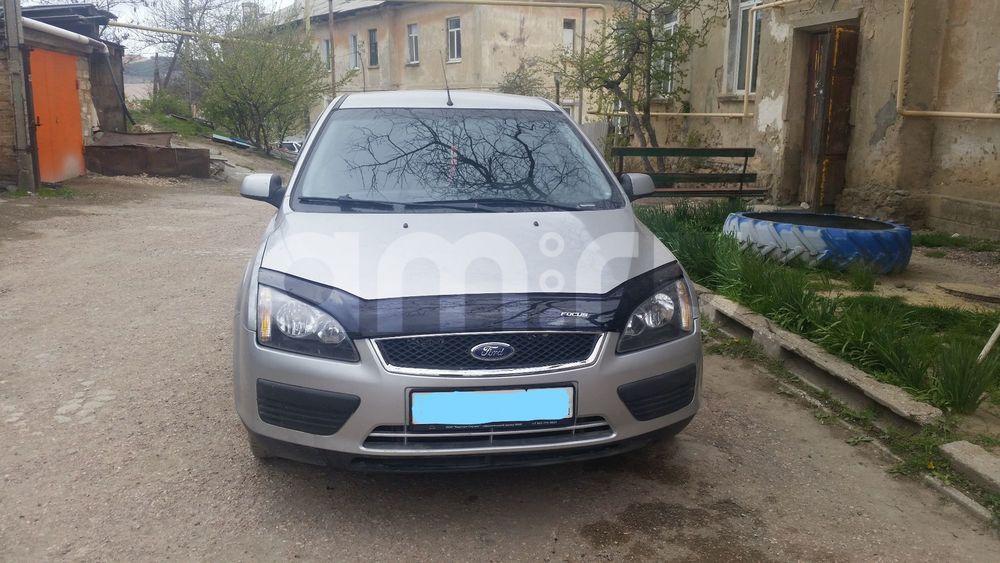 Подержанный Ford Focus, отличное состояние, серебряный , 2006 года выпуска, цена 250 000 руб. в Крыму