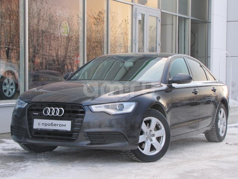 Audi A6 с пробегом, серый , отличное состояние, 2013 года выпуска, цена 1 349 000 руб. в автосалоне Европа Авто (Екатеринбург, пр-кт Космонавтов, д. 6)