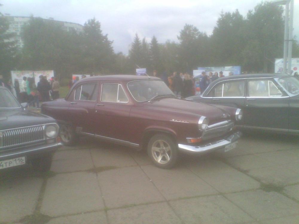 Подержанный ГАЗ 21 Волга, отличное состояние, бордовый , 1967 года выпуска, цена 350 000 руб. в республике Татарстане
