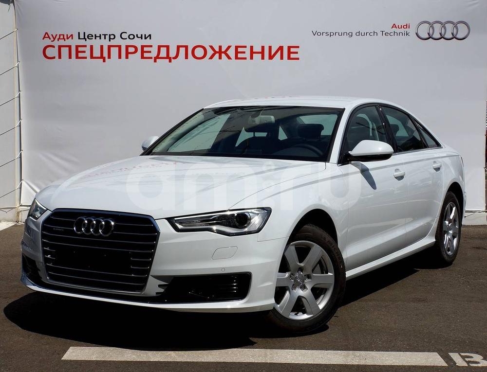 Новый авто Audi A6, серый , 2016 года выпуска, цена 2 490 000 руб. в автосалоне  ()