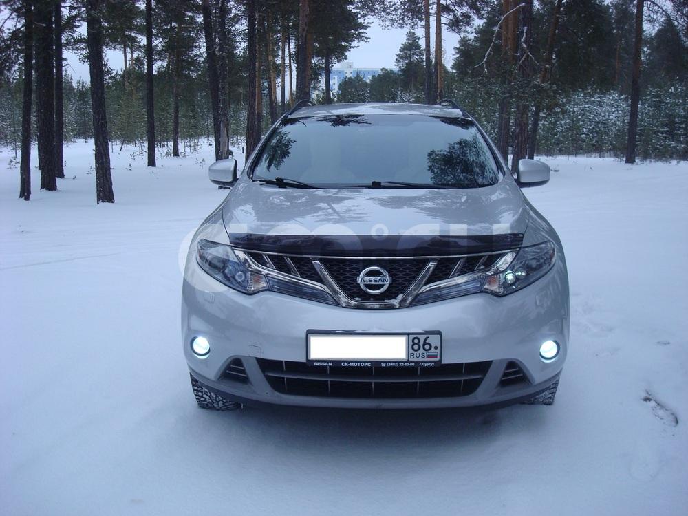 Подержанный Nissan Murano, отличное состояние, серебряный , 2011 года выпуска, цена 860 000 руб. в ао. Ханты-Мансийском Автономном округе - Югре
