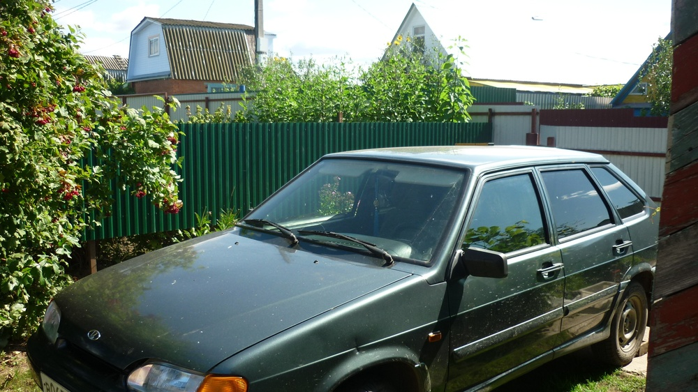 Подержанный ВАЗ (Lada) 2114, хорошее состояние, зеленый металлик, 2010 года выпуска, цена 145 000 руб. в республике Татарстане