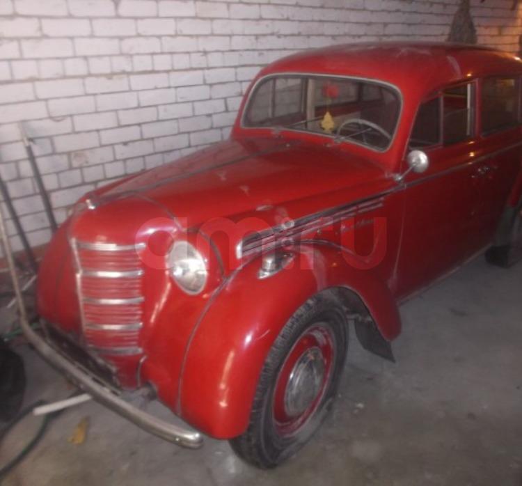Подержанный Москвич 401, хорошее состояние, красный , 1956 года выпуска, цена 230 000 руб. в Саратове