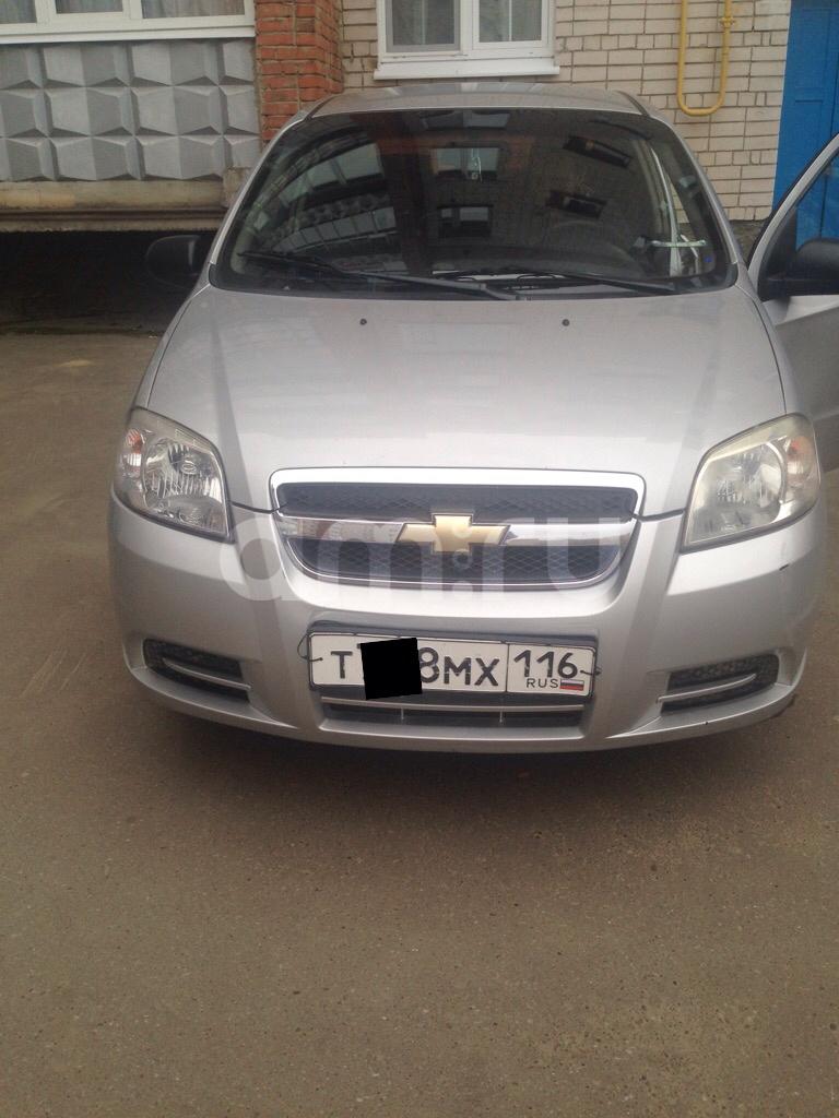 Подержанный Chevrolet Aveo, среднее состояние, серебряный , 2008 года выпуска, цена 200 000 руб. в республике Татарстане