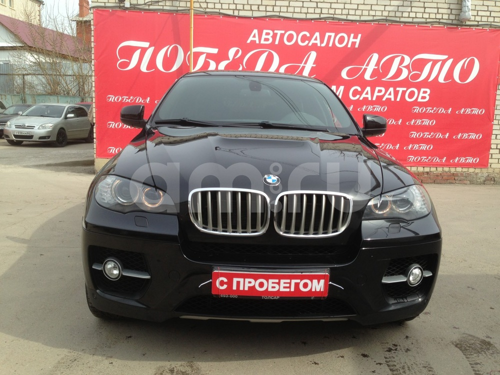 BMW X6 с пробегом, черный , отличное состояние, 2009 года выпуска, цена 1 650 000 руб. в автосалоне Победа-Авто (Саратов, ул. Чапаева, д. 173)