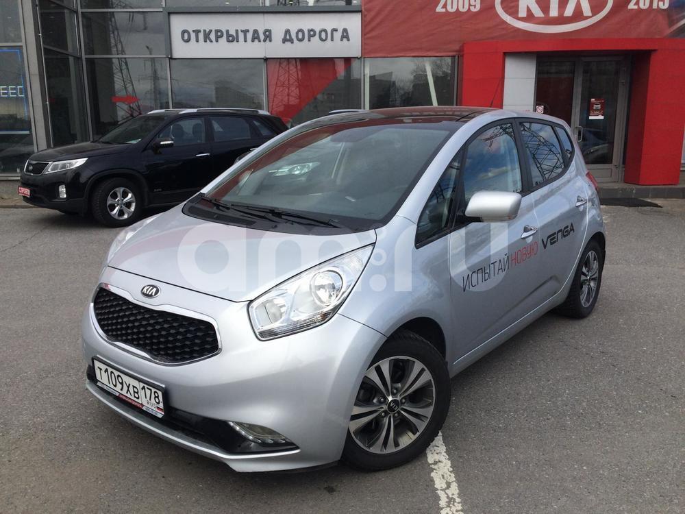 Kia Venga с пробегом, серебряный , отличное состояние, 2015 года выпуска, цена 880 000 руб. в автосалоне  ()