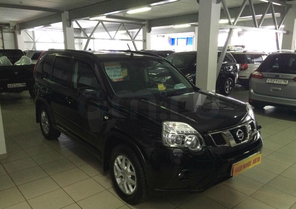 Nissan X-Trail с пробегом, черный металлик, отличное состояние, 2013 года выпуска, цена 970 000 руб. в автосалоне Березовский привоз (Екатеринбург, тракт Березовский, д. 4Б)