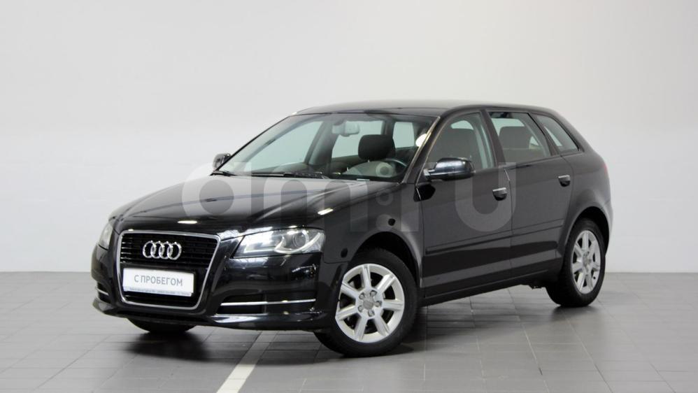 Audi A3 с пробегом, черный , отличное состояние, 2012 года выпуска, цена 659 000 руб. в автосалоне Тойота Центр Сургут Юг (Сургут, тракт Югорский, д. 23, стр. 1)