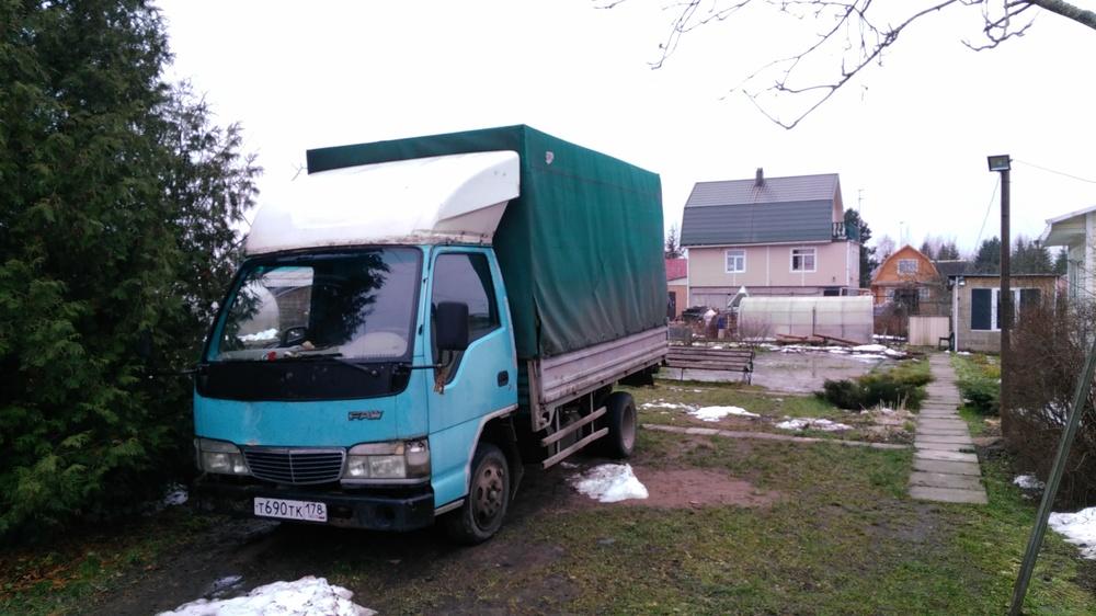 Подержанный FAW 1041, хорошее состояние, зеленый акрил, 2007 года выпуска, цена 149 000 руб. в Санкт-Петербурге