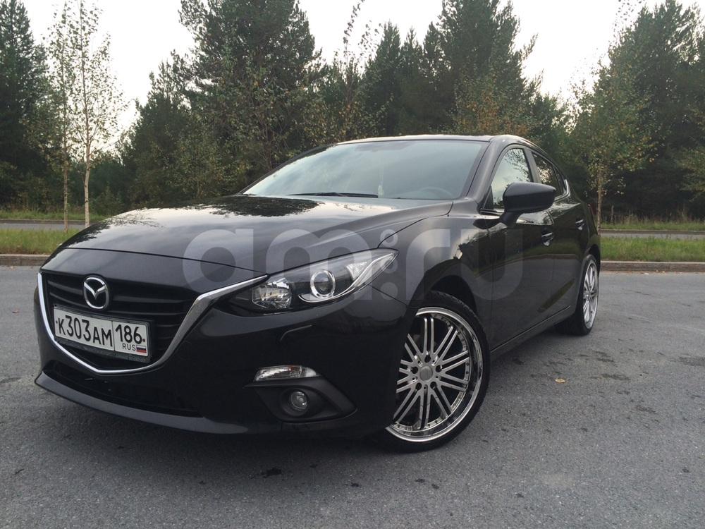 Подержанный Mazda 3, отличное состояние, черный , 2014 года выпуска, цена 870 000 руб. в ао. Ханты-Мансийском Автономном округе - Югре