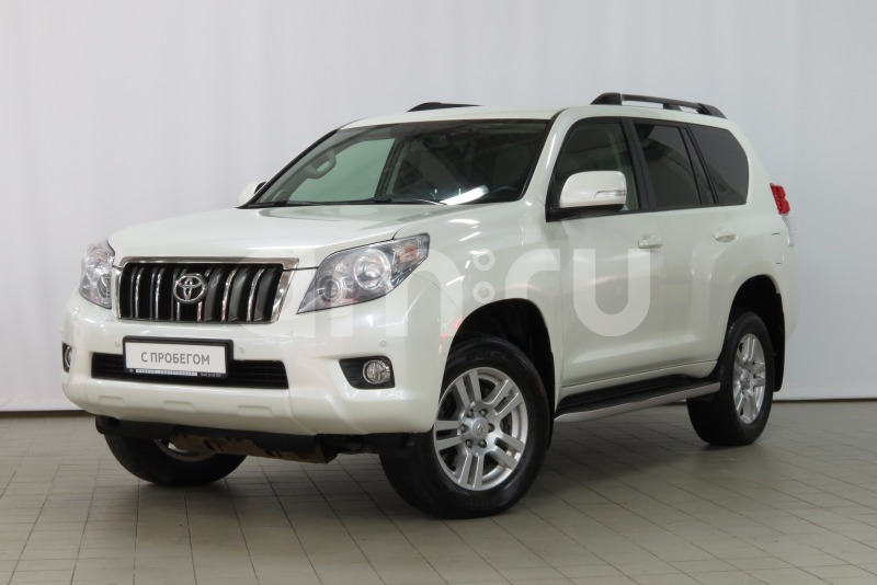 Toyota Land Cruiser Prado с пробегом, белый матовый, отличное состояние, 2012 года выпуска, цена 1 890 000 руб. в автосалоне  ()