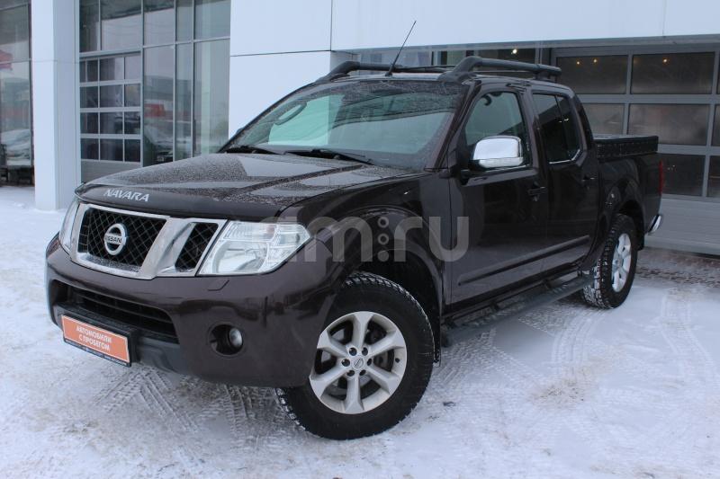 Nissan Navara с пробегом, коричневый , отличное состояние, 2013 года выпуска, цена 1 249 000 руб. в автосалоне Автобан-Запад (Екатеринбург, ул. Металлургов, д. 67)