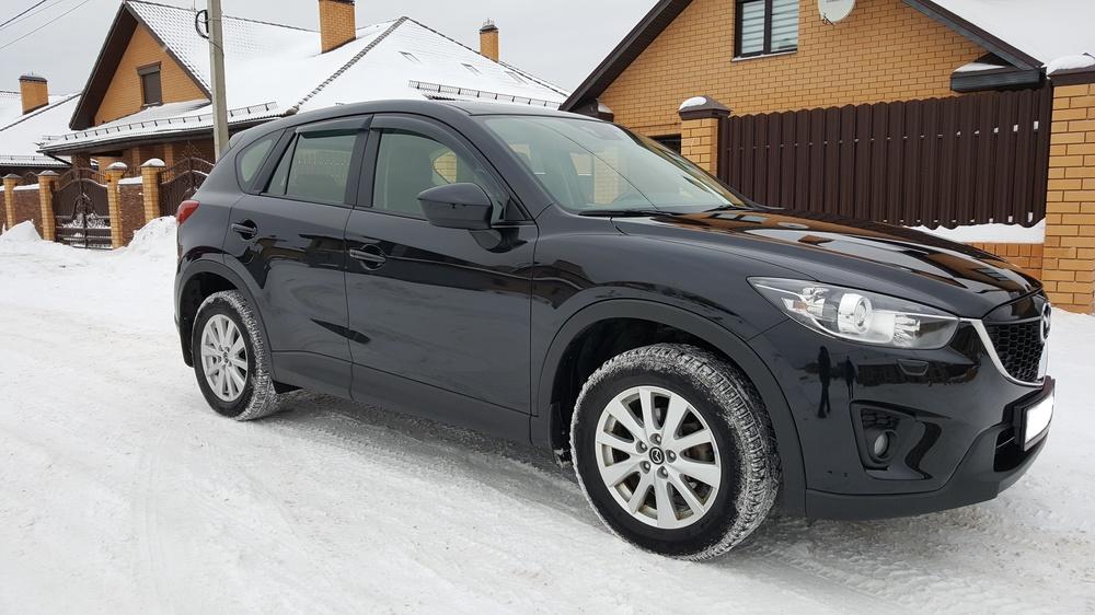 Подержанный Mazda CX-5, отличное состояние, черный , 2012 года выпуска, цена 1 050 000 руб. в Твери