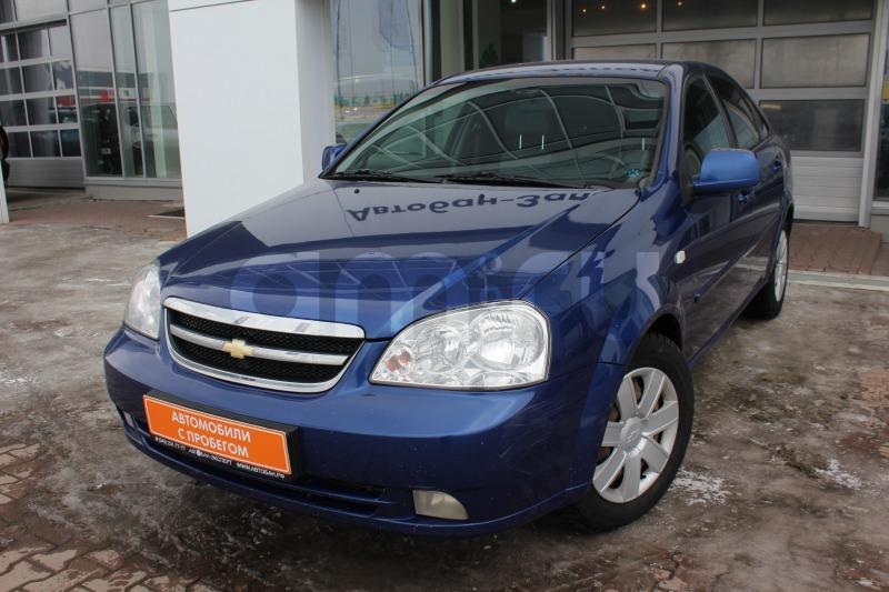 Chevrolet Lacetti с пробегом, синий металлик, отличное состояние, 2011 года выпуска, цена 299 000 руб. в автосалоне  ()