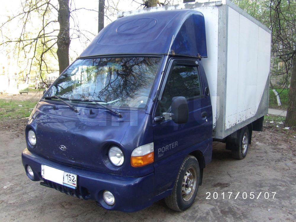 Подержанный Hyundai Porter, отличное состояние, синий , 2008 года выпуска, цена 250 000 руб. в Нижнем Новгороде
