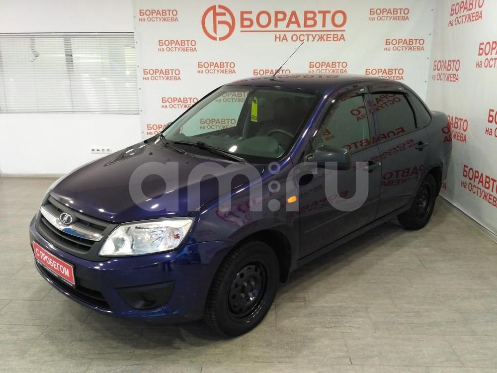 ВАЗ (Lada) Granta с пробегом, синий , отличное состояние, 2015 года выпуска, цена 327 000 руб. в автосалоне  ()