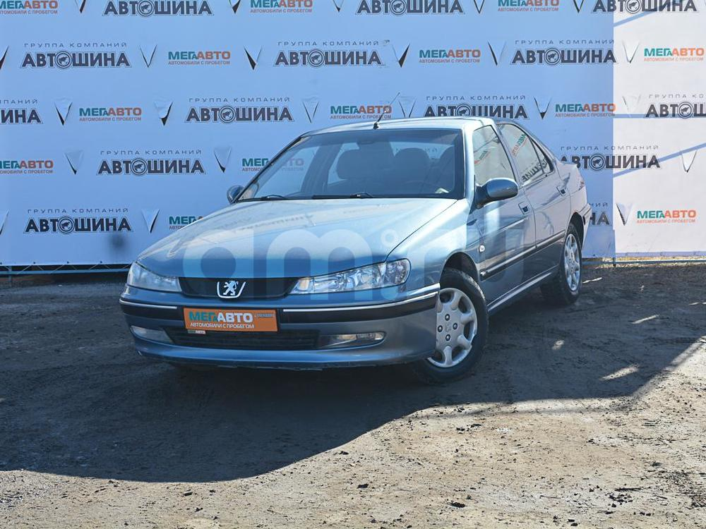 Peugeot 406 с пробегом, голубой , отличное состояние, 2001 года выпуска, цена 115 000 руб. в автосалоне  ()