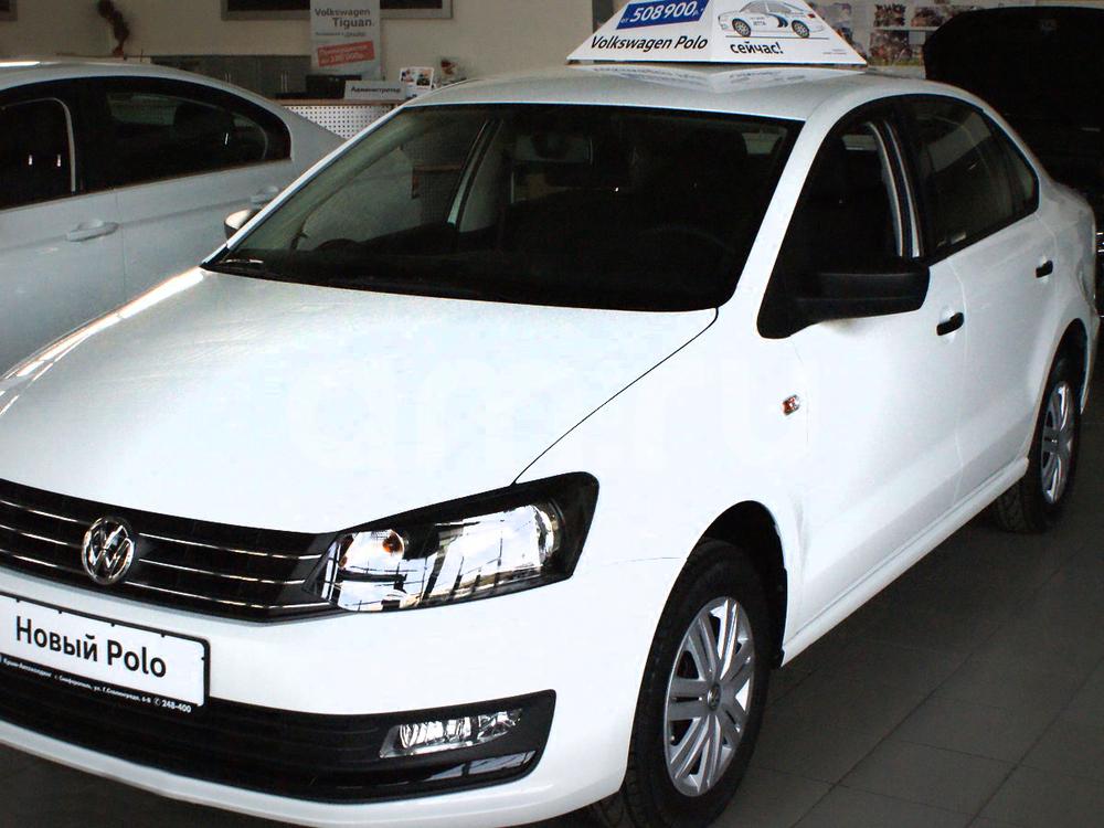 Новый авто Volkswagen Polo, белый , 2016 года выпуска, цена 559 900 руб. в автосалоне Крым-Автохолдинг Volkswagen (Симферополь, ул. Героев Сталинграда, д. 6В)