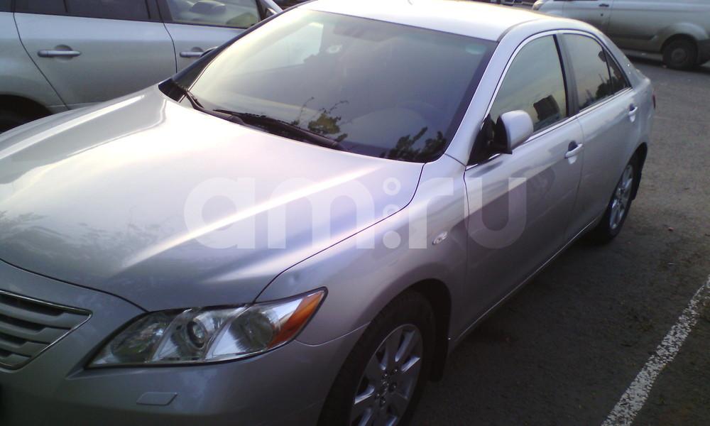 Подержанный Toyota Camry, хорошее состояние, серый , 2008 года выпуска, цена 700 000 руб. в Владивостоке