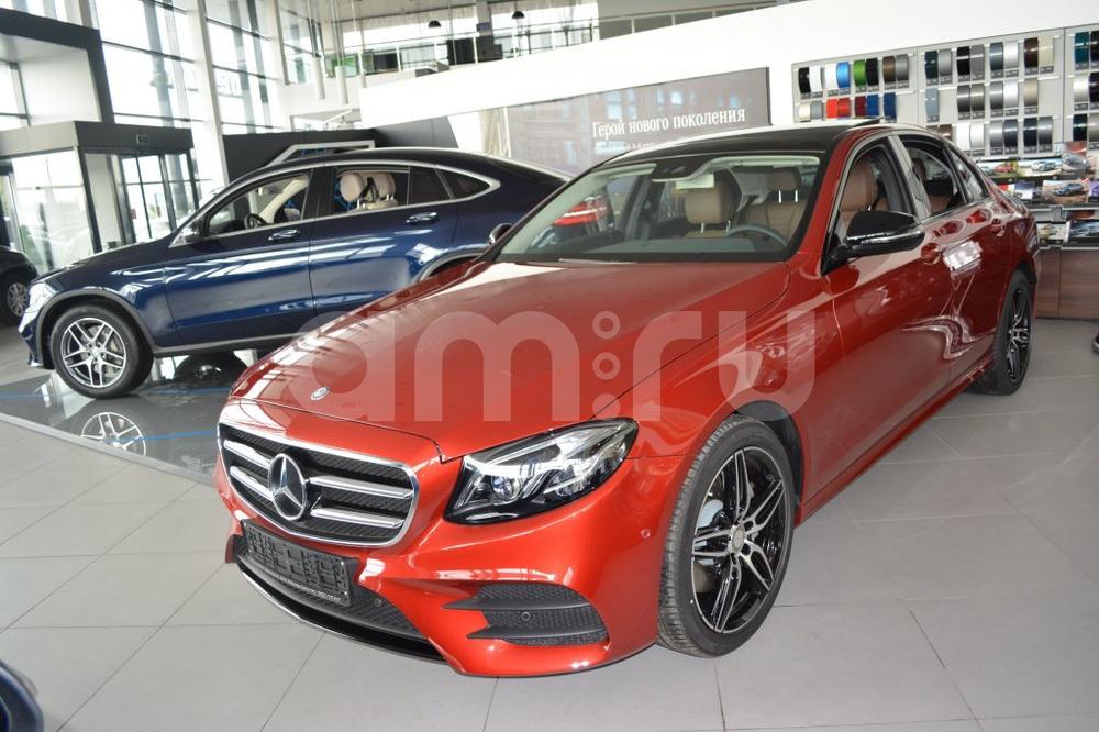 Новый авто Mercedes-Benz E-Класс, красный металлик, 2016 года выпуска, цена 3 700 000 руб. в автосалоне МБ-Орловка (Набережные Челны, тракт Мензелинский, д. 24)