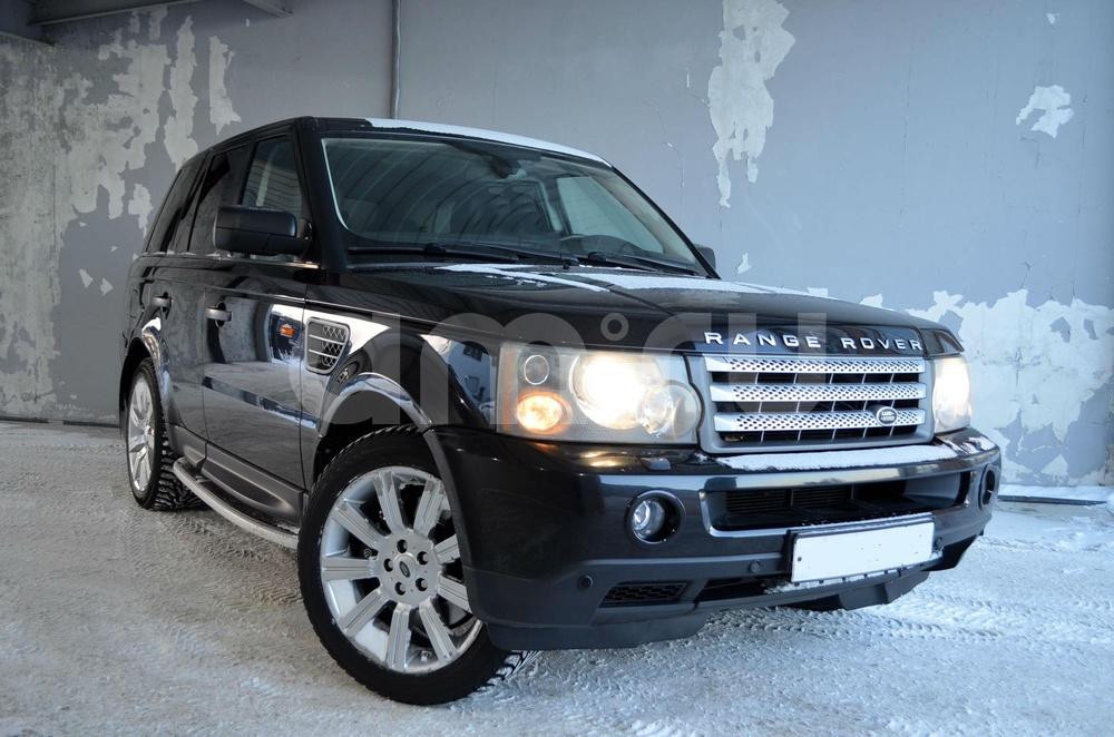 Land Rover Range Rover Sport с пробегом, черный , отличное состояние, 2005 года выпуска, цена 650 000 руб. в автосалоне Березовский привоз (Екатеринбург, тракт Березовский, д. 4Б)