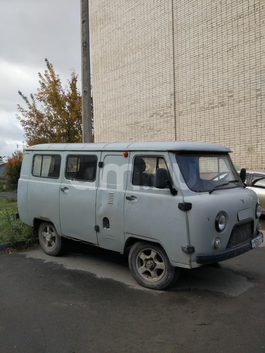 Подержанный УАЗ 39625, хорошее состояние, серый , 2007 года выпуска, цена 150 000 руб. в Челябинской области